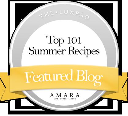 Top 101 Summer Recipes by Amara Living