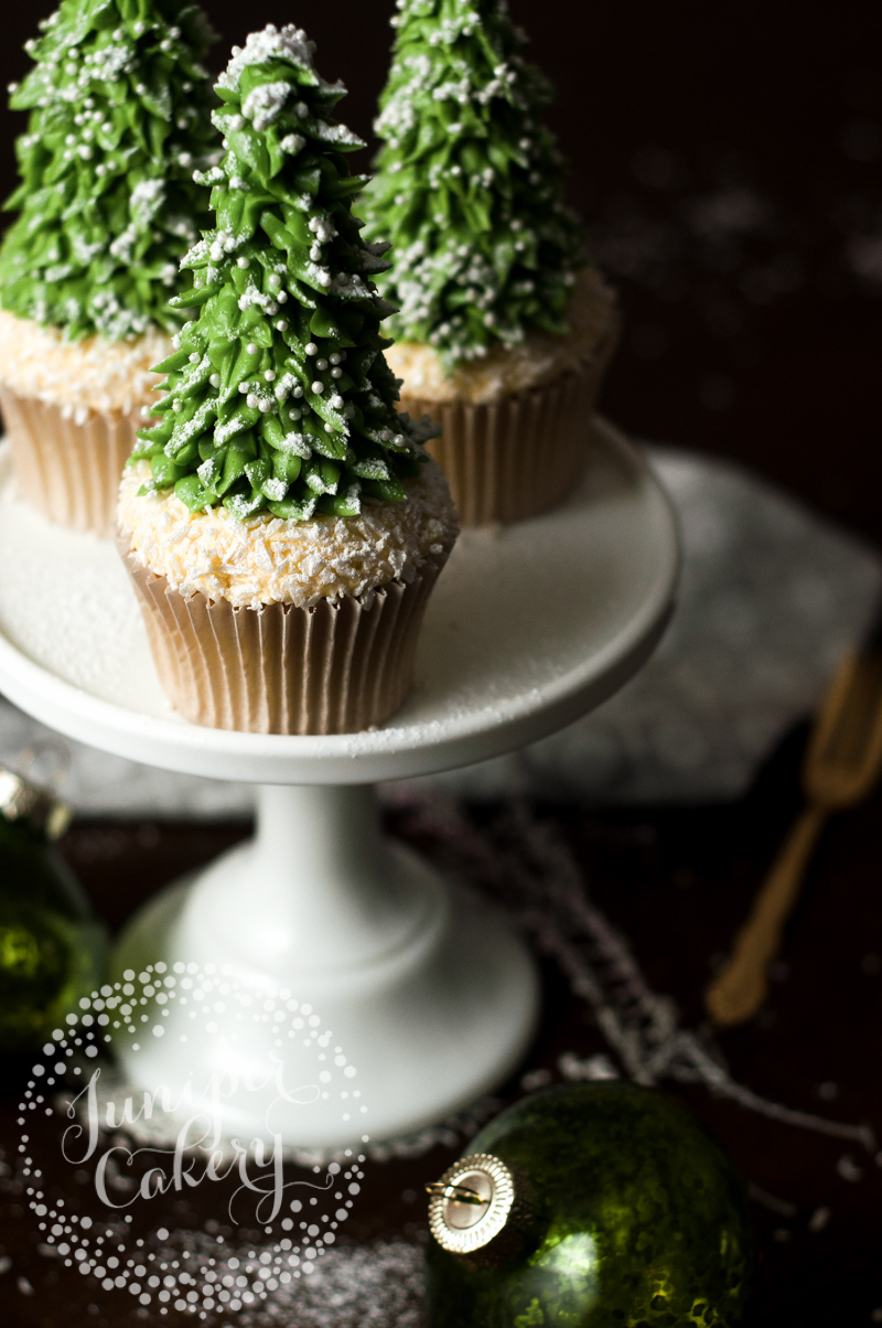 Our Rustic Christmas Tree Cupcake Tutorial Via Craftsy
