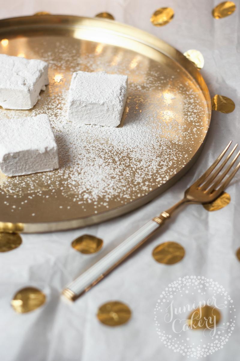 Homemade Vanilla Marshmallow Recipe and Tutorial