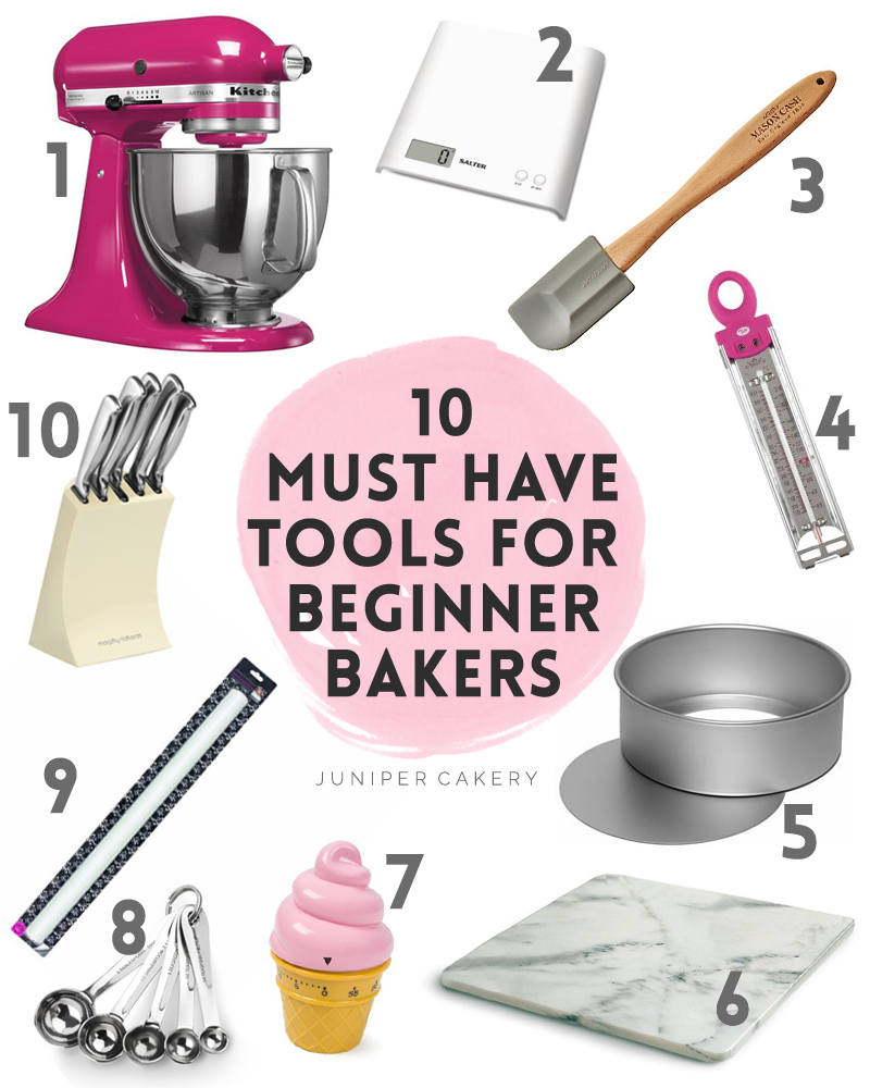 Our 10 essential baking tools for beginner bakers for Baking decoration