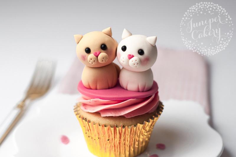 Snow Ball Cake Cat