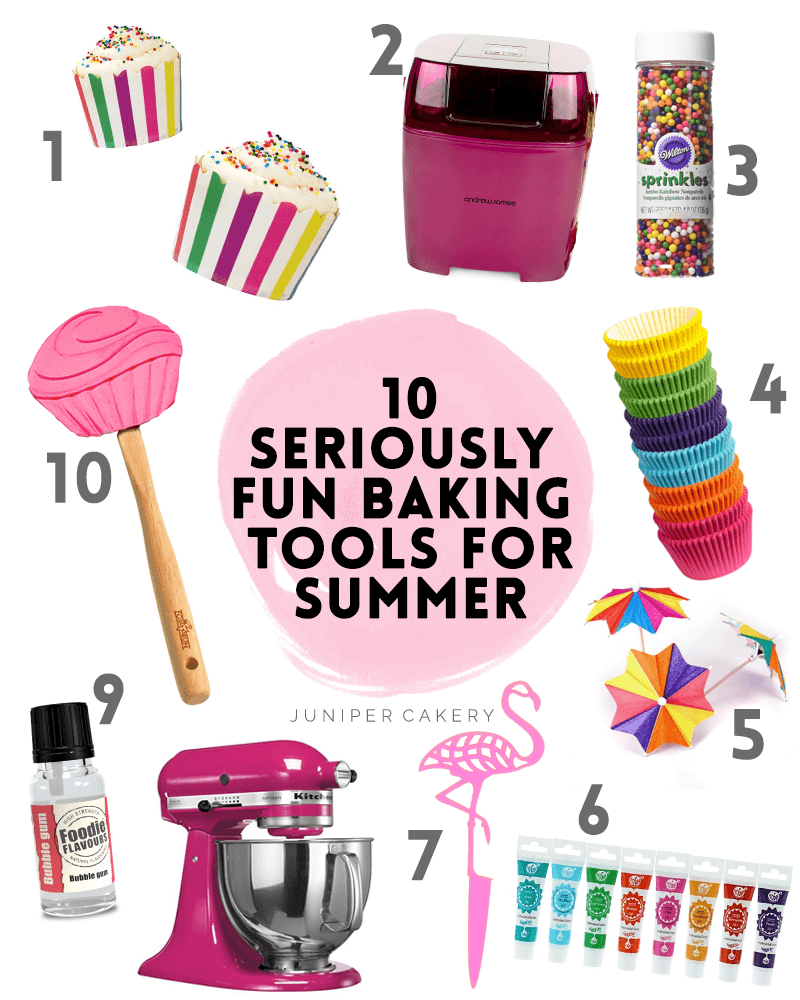 10 Seriously Fun Baking Ideas And Tools For Summer Sweets