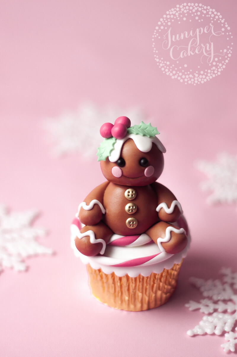 Cute Fondant Gingerbread Character Tutorial