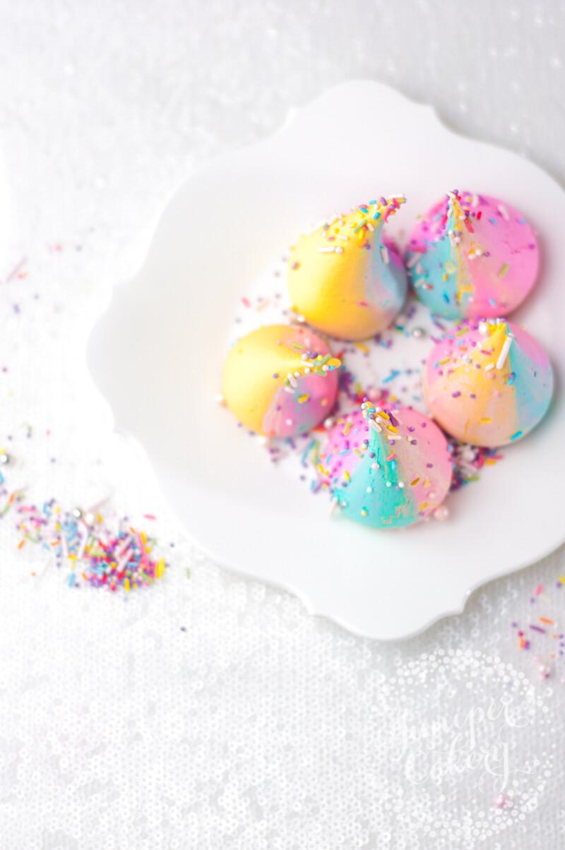 Magical Unicorn Poop Meringues Recipe