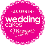 Featured in Wedding Cakes magazine