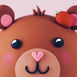 Teddy bear cake by Juniper Cakery