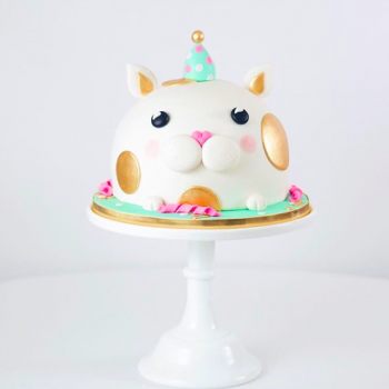 Party cat cake by Juniper Cakery