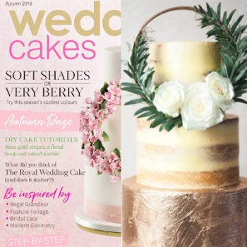 Juniper Cakery in Wedding Cakes magazine Autumn 2018