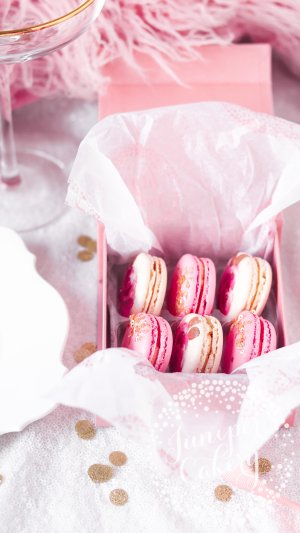 Small macaron gift box by Juniper Cakery