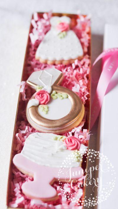 Bridal Shower cookies via Juniper Cakery