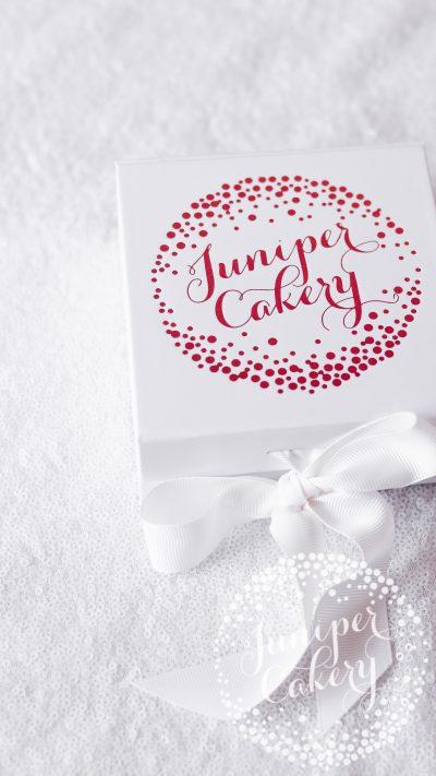 Chilli chocolate macaron gift box by Juniper Cakery