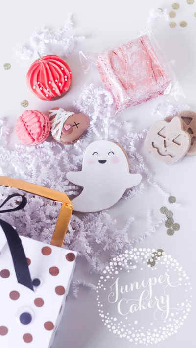 Fun Halloween Treat Bag by Juniper Cakery
