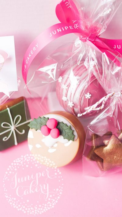 Festive family hamper by Juniper Cakey