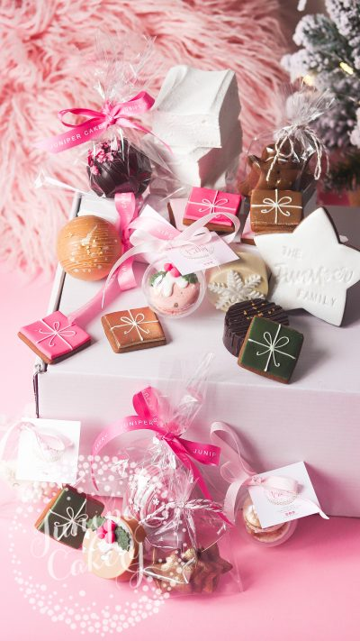 Christmas family hamper by Juniper Cakery