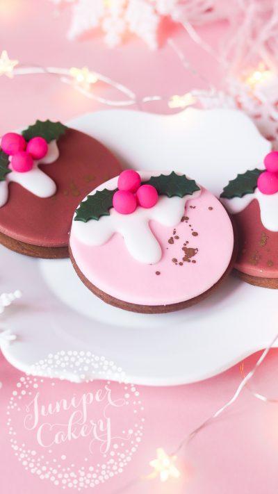 Christmas gingerbread cookies by Juniper Cakery