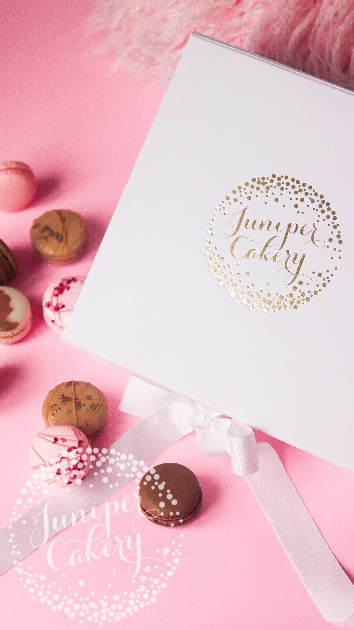 Macarons for UK delivery by Juniper Cakery