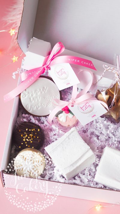 Christmas hamper for couples by Juniper Cakery