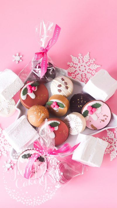 Hot Chocolate Hamper for the family by Juniper Cakery