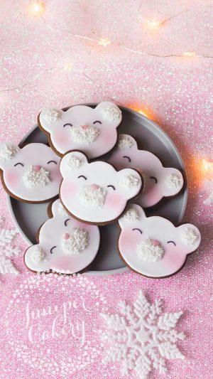 VEGAN Christmas cookies by Juniper Cakery